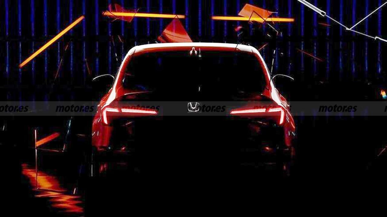 Un teaser anuncia el debut del nuevo Honda Civic Sedán Prototype 2022