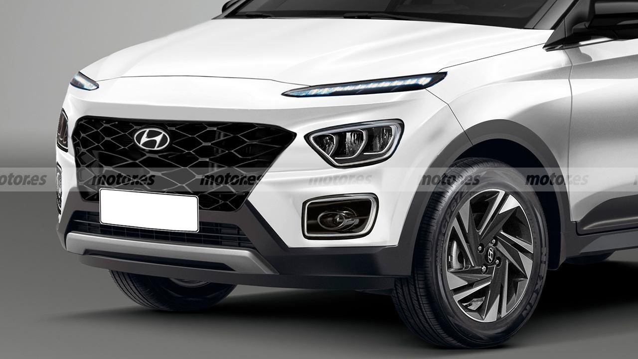 Recreación del Hyundai Bayon