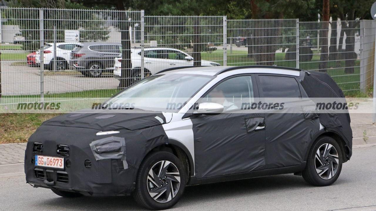 Hyundai Bayon - foto espía