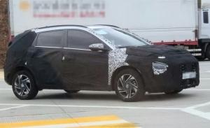 Nuevas fotos espía del Hyundai Bayon 2021 en Corea del Sur desvelan interesantes detalles