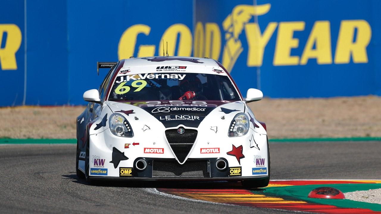 Jean-Karl Vernay conquista la primera carrera del WTCR en Aragón