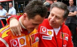 Jean Todt y el estado de Schumacher: «Lucha y sigue la carrera de Mick»