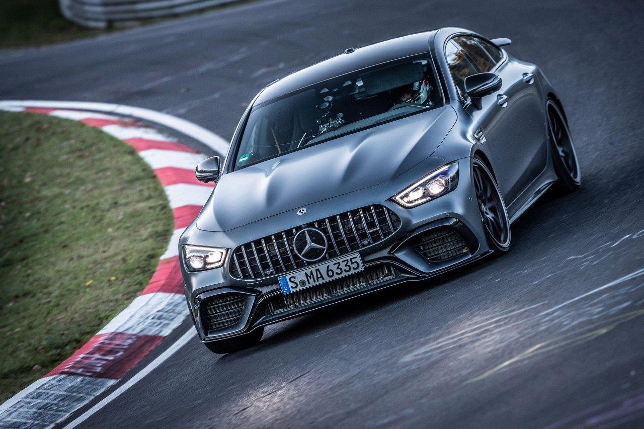 El Mercedes-AMG GT 63 S 4MATIC+ destroza el récord de Nürburgring del Porsche Panamera