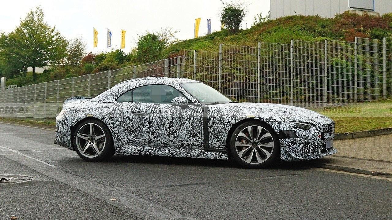 Los prototipos del Mercedes Clase SL con todo detalle en vídeo