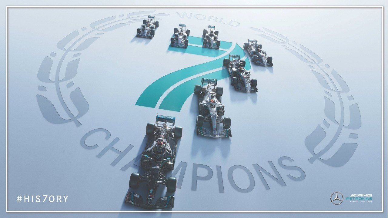 Este Mercedes es ya el mejor equipo de la historia: ¡7 Mundiales consecutivos!