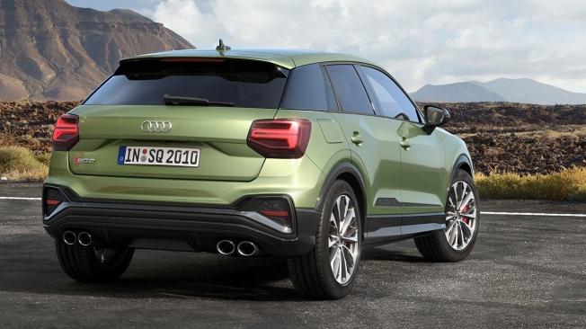 Audi SQ2 2021 - rear