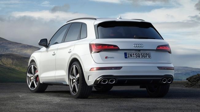 Audi SQ5 TDI 2021 - posterior