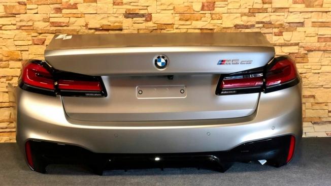 BMW M5 CS 2021 - foto espía posterior