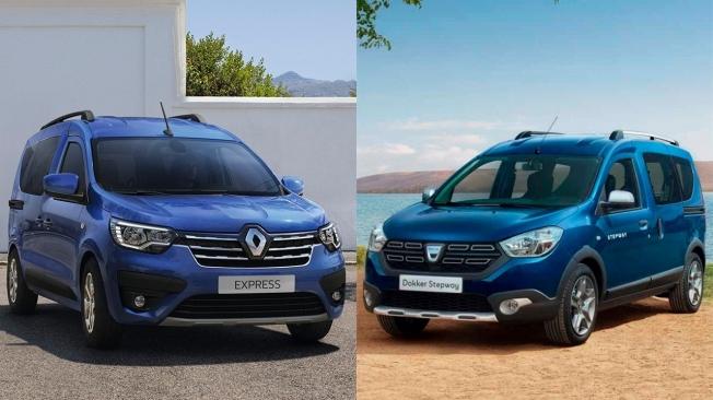 Renault Express y Dacia Dokker