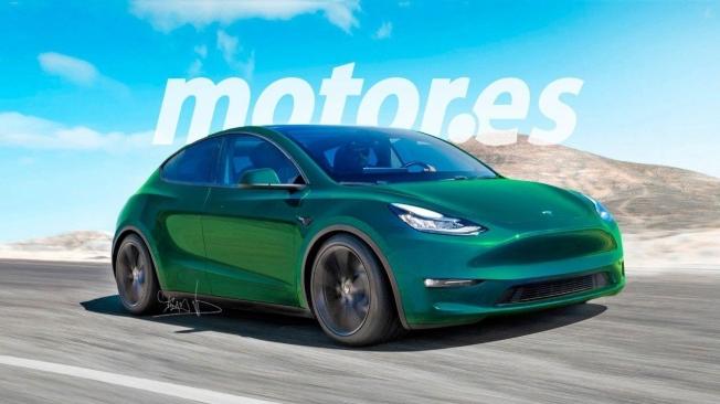 Recreación de Tesla compacto