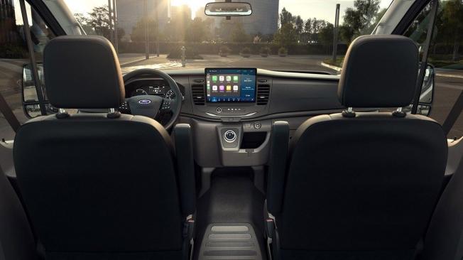 Ford E-Transit - interior