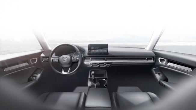 Honda Civic Prototype 2021 - interior