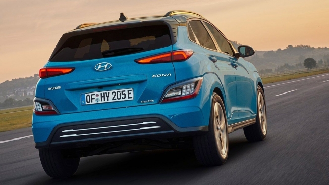 Hyundai Kona Eléctrico 2021 - posterior