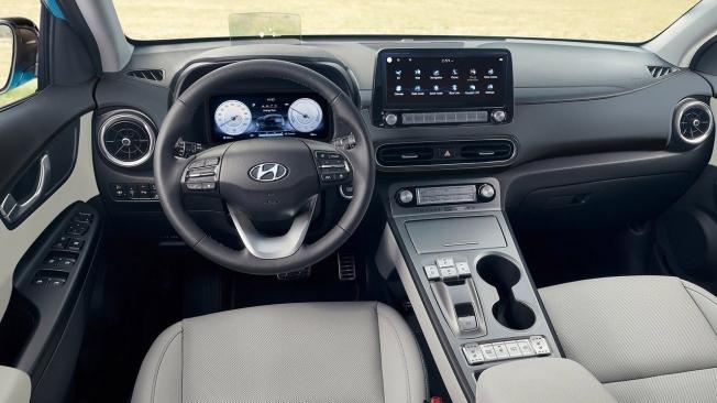 Hyundai Kona Eléctrico 2021 - interior