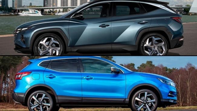 Hyundai Tucson 2021 vs Nissan Qashqai