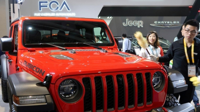 Jeep at the Import Expo Shanghai 2020
