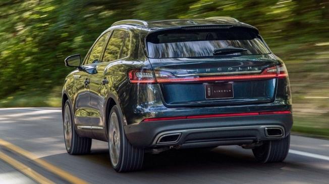 2021 Lincoln Nautilus - Rear