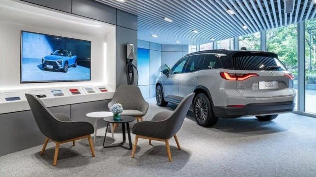 NIO brand dealer in China