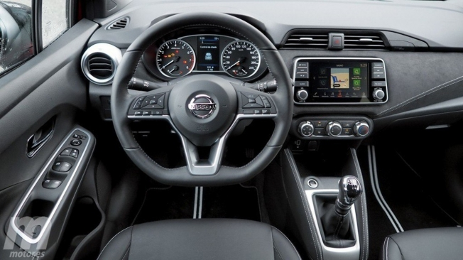 Nissan Micra 2021 - interior
