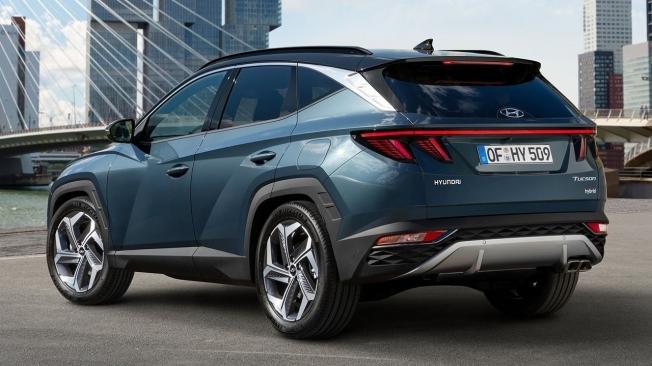 Hyundai Tucson Hybrid - posterior