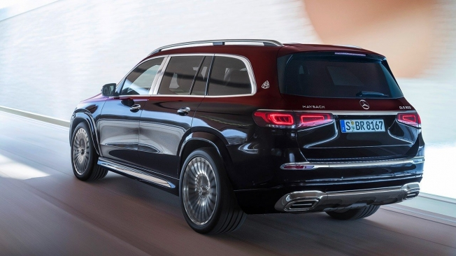 Mercedes-Maybach GLS - posterior