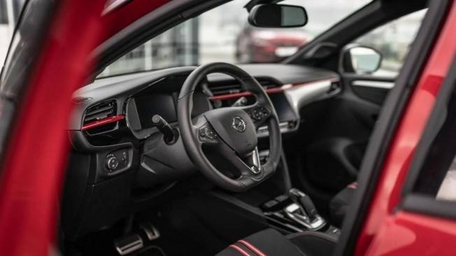 Opel Corsa-e GS Line - interior