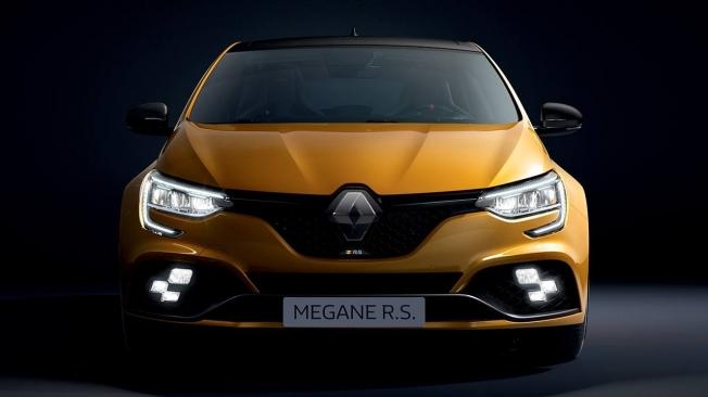 Renault Mégane R.S. 2021 - frontal