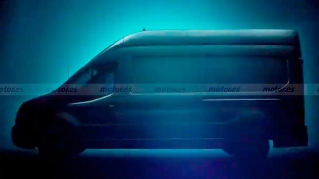 Ford E-Transit - teaser