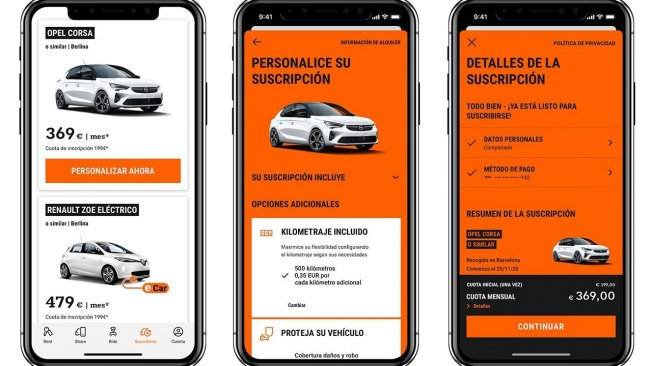 SIXT +, car by subscription