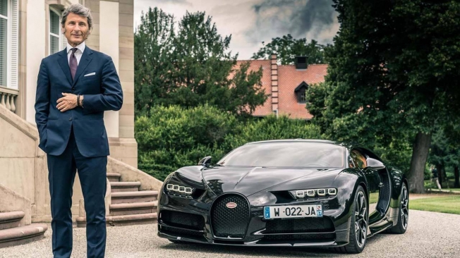 Stephan Winkelmann at Bugatti