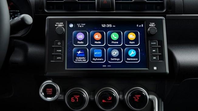 Subaru BRZ 2022 - pantalla táctil
