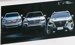 El nuevo Nissan Frontier norteamericano parece haber sido filtrado por la propia marca