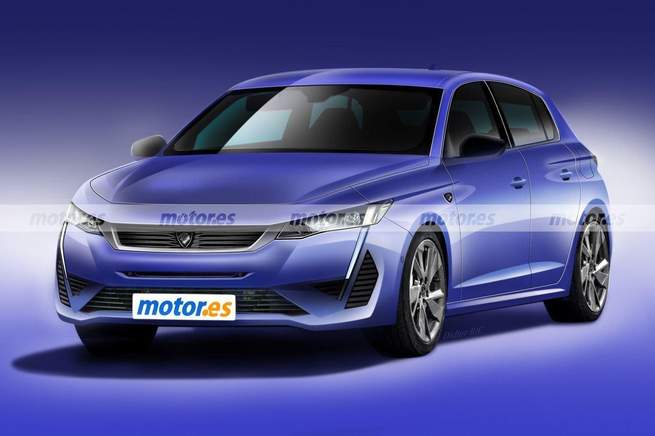 Peugeot 308 2021, nuevo adelanto de diseño y datos del compacto francés