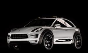 Porsche creó en secreto un Macan 2 puertas off-road de alto rendimiento