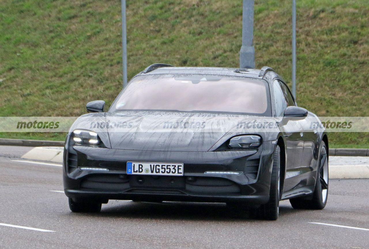 El nuevo Porsche Taycan Cross Turismo 2021, cazado en Alemania sin camuflaje