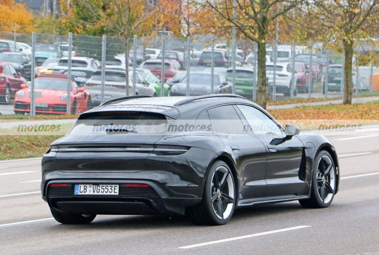 Foto espía Porsche Taycan Cross Turismo 2021 - exterior