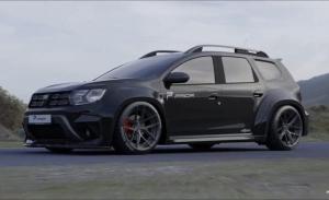 PRIOR Design presenta una propuesta especial para el Dacia Duster