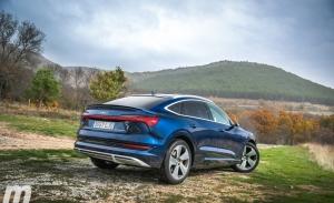 Prueba Audi e-tron Sportback, la electricidad llega al SUV coupé