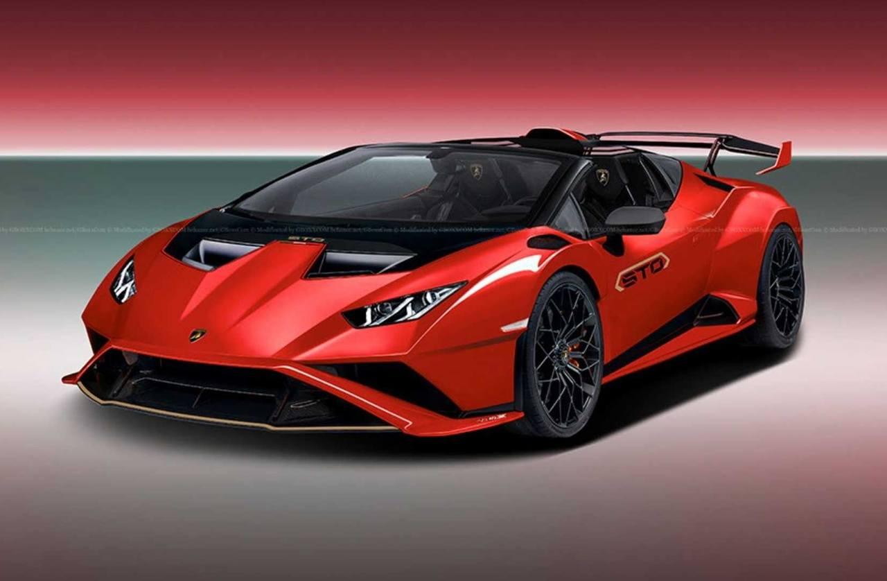 El Lamborghini Huracán STO se verá aún más radical en su variante Spyder