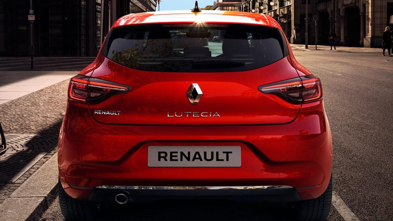 Renault Lutecia - posterior