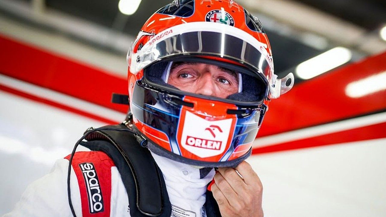 Robert Kubica vuelve a los mandos del Alfa Romeo C39 en Bahréin