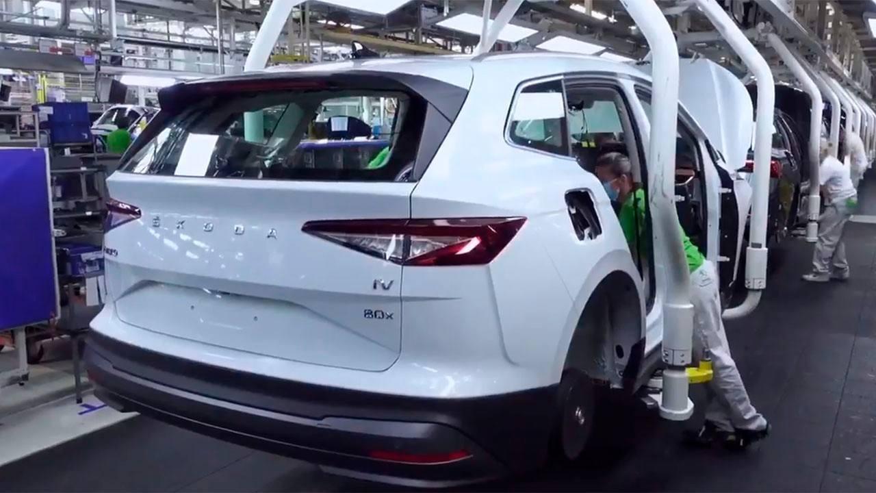 Se inicia la producción del Skoda Enyaq iV, el esperado SUV eléctrico