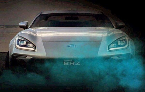 Una filtración desvela el frontal del nuevo Subaru BRZ 2022