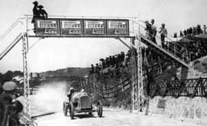Targa Florio 1919, y Peugeot ganó con un coche de la guerra