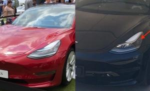 Al descubierto las nuevas ópticas delanteras del Tesla Model 3 «Refresh»