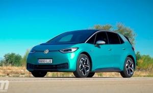 Holanda - Octubre 2020: El nuevo Volkswagen ID.3 obtiene la victoria