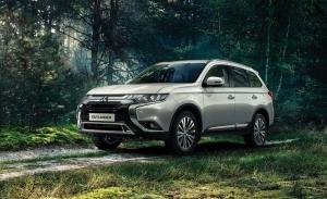 Rusia - Octubre 2020: Las ventas del Mitsubishi Outlander se animan