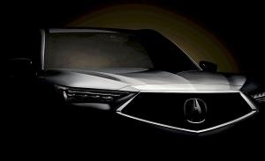 El Acura MDX 2022 de producción ya está listo y a punto de ser presentado