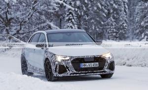 El nuevo Audi RS 3 Sportback 2021 afronta sus segundas pruebas de invierno