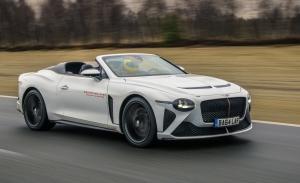 Los prototipos del exclusivo Bentley Mulliner Bacalar empiezan sus pruebas